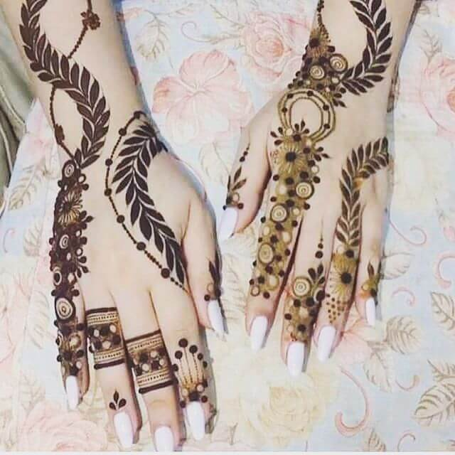 easy mehndi henna designs for hands