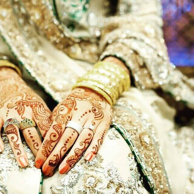 Bridal Henna Designs for Both hands