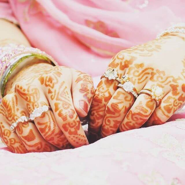 Bridal Henna Designs for Both Back hands