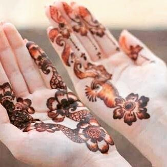 Simple and beautiful Front hands mehndi designs 2018