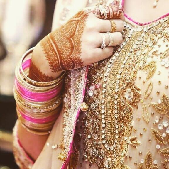 Creative Bridal back Hands Henna Designs