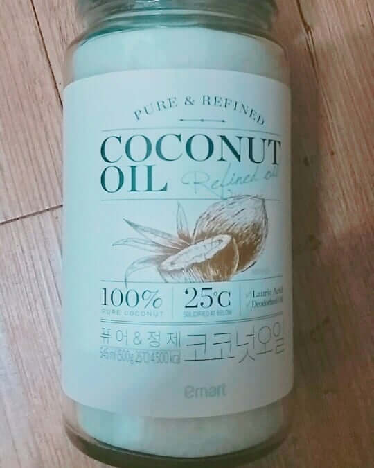 coconut oil best for skin