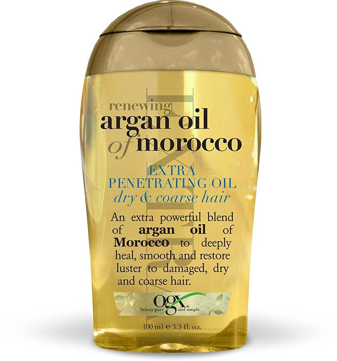 aragn oil as shampoo