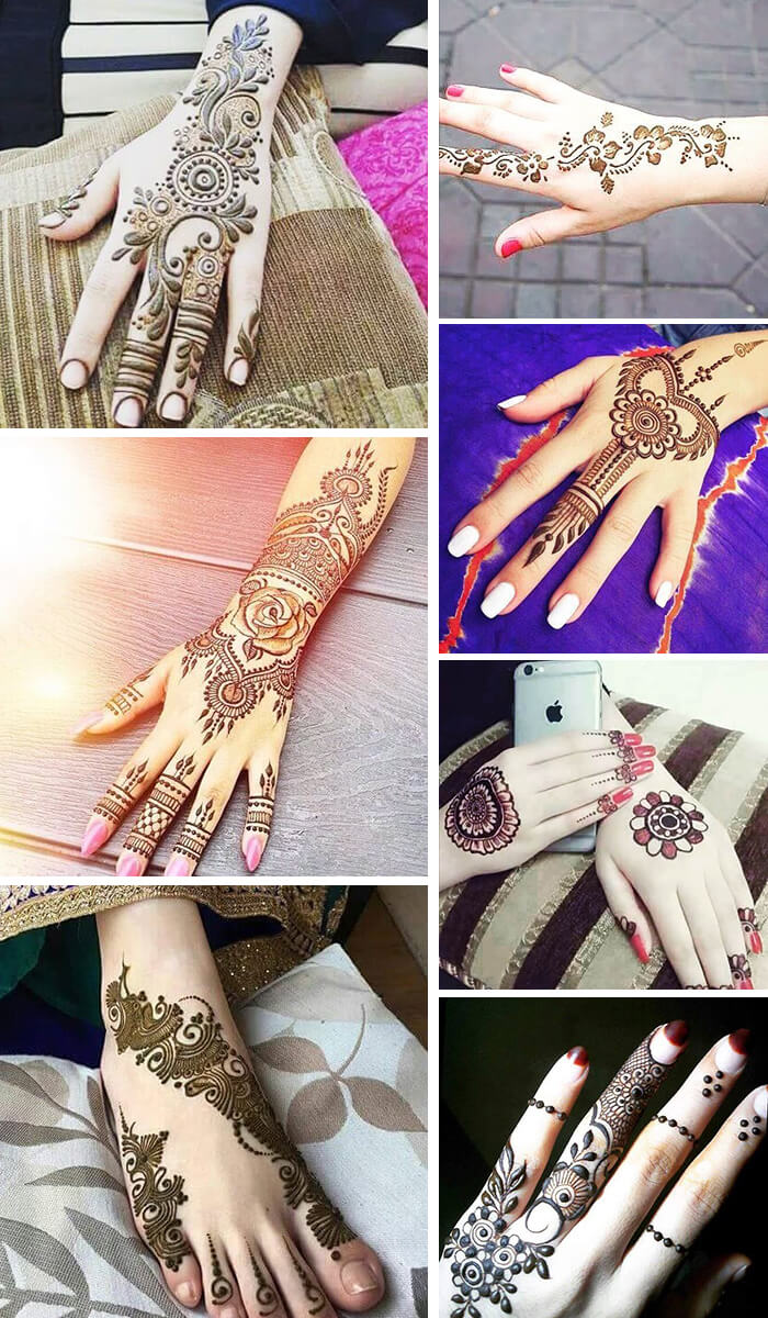 61 Easy, Simple and Traditional Henna Arabic Mehndi Designs in 2018
