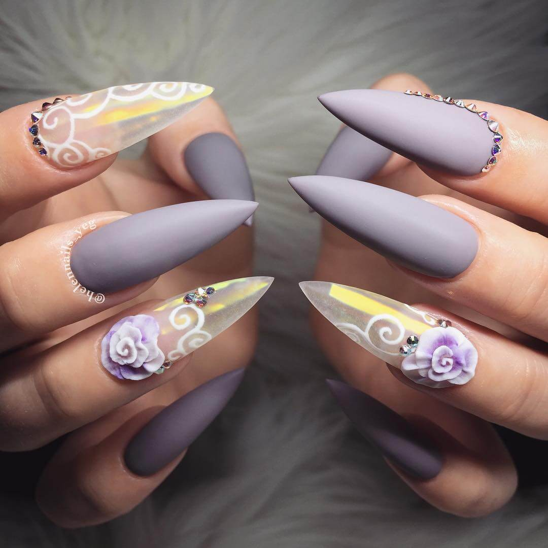 latest nail arts trends