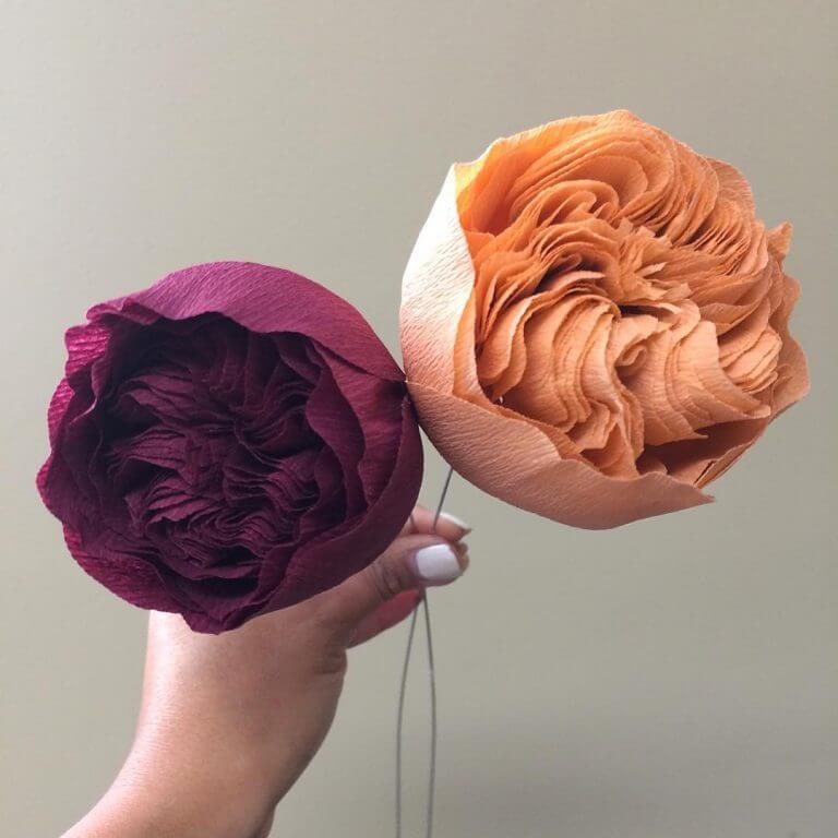 Paper Flowers Ideas For Kidz