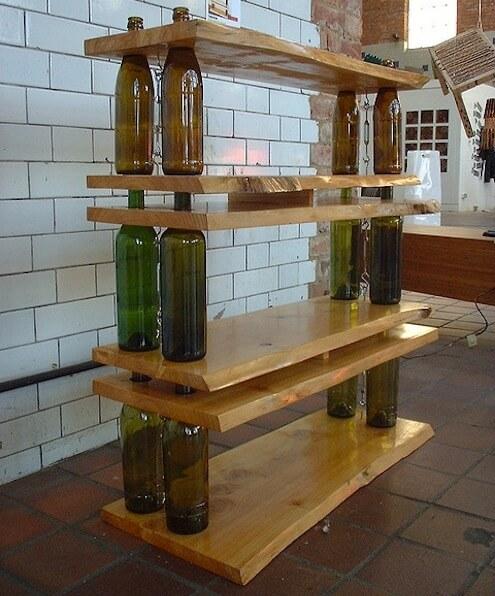 Bottle Shelves For Books