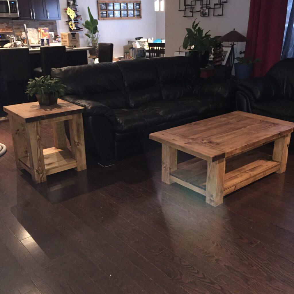 Rustic coffee table designs
