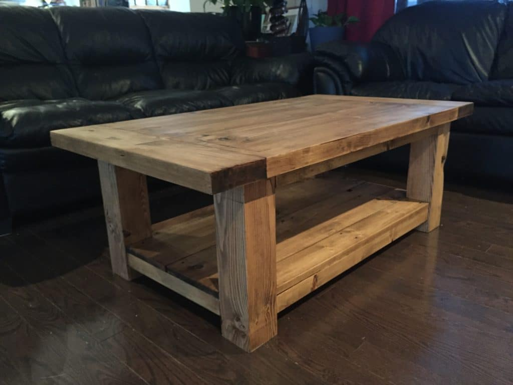 Rustic coffee table designs