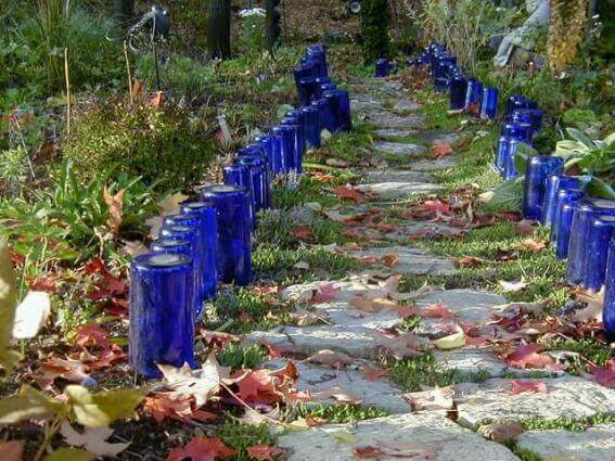 Garden Bottle Edging