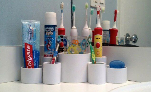 PVC Pipes Holders Ideas