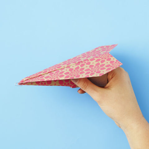 Easy way To Make Paper Plane For kidz