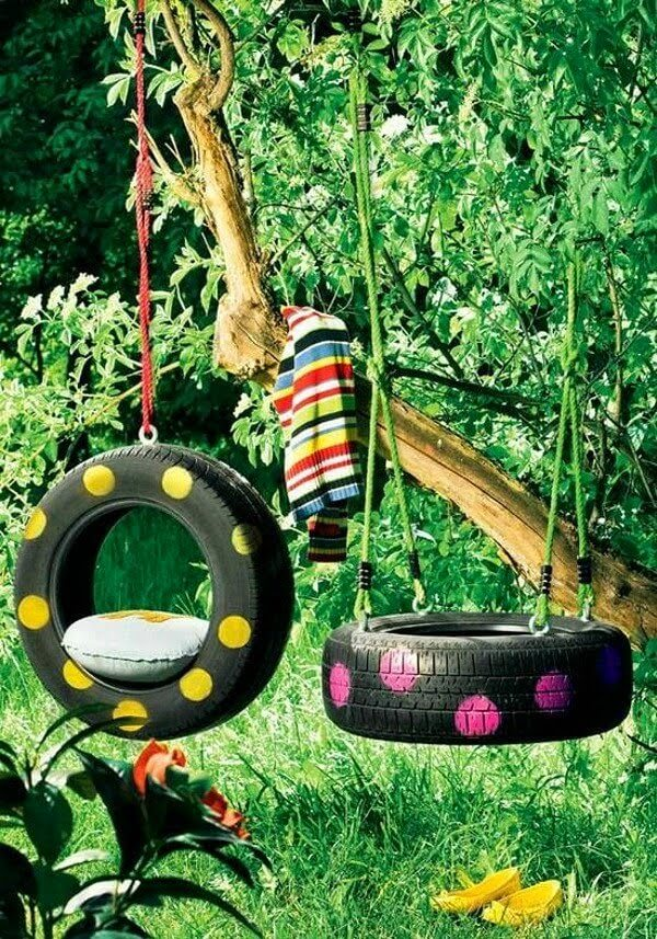 Tyre Swings Ideas