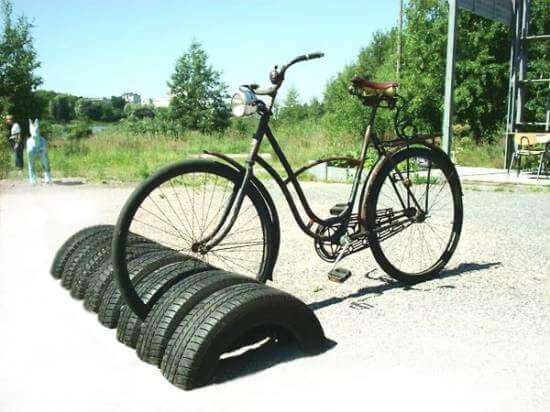 Tyre Bike Stand