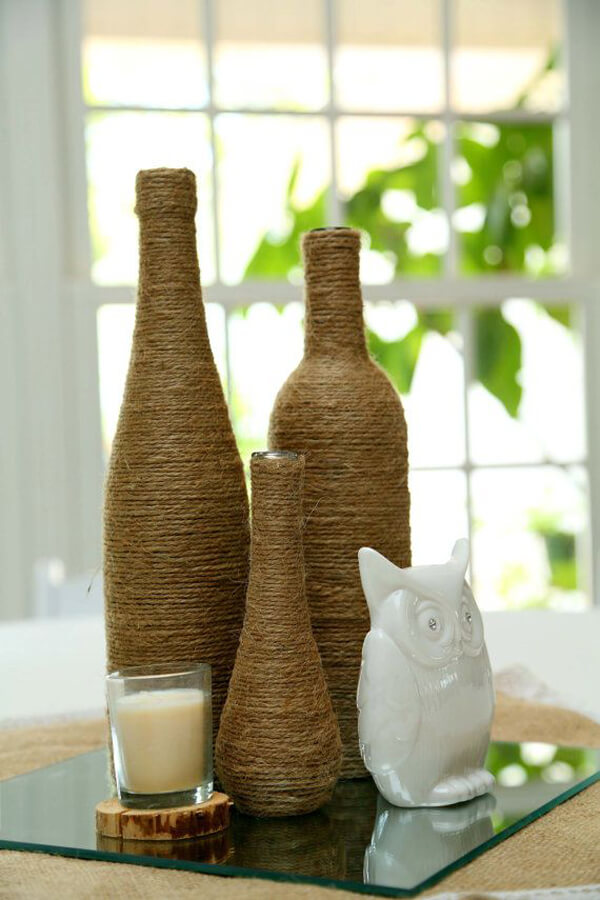 33 Cool Ideas How To Recycle Wine Bottles - Sensod