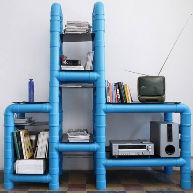 PVC Pipe Furniture Ideas
