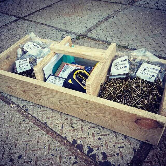 Pallet compact boxes