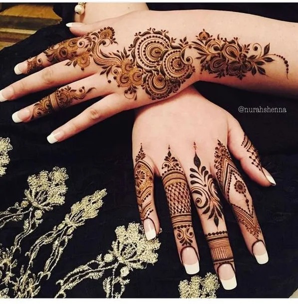 50+ Gorgerous and Inspiring Henna Designs for Women
