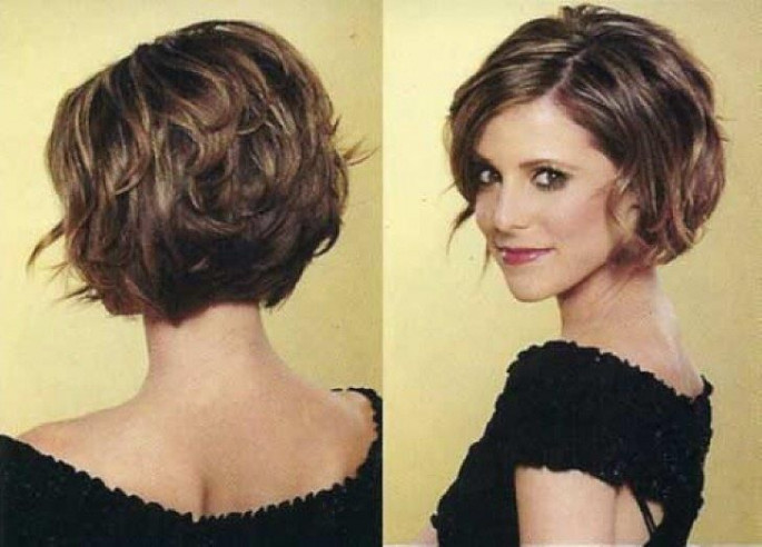 Wedge Short Haircuts & Hairstyles for Thick Hair