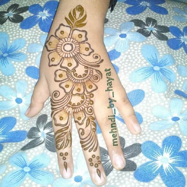 36 latest simple but unique eye catchy mehndi designs sensod 30 beautiful back hand mehndi designs that you can do by yourself solutioingenieria Image collections