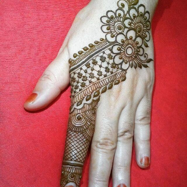 Back Hands Arabic Mehndi Designs 2018