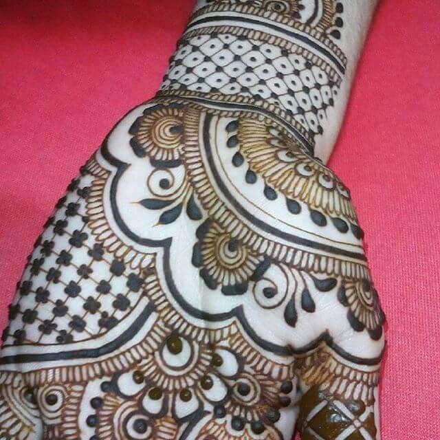 Full Easy Front Hands Mehndi Designs