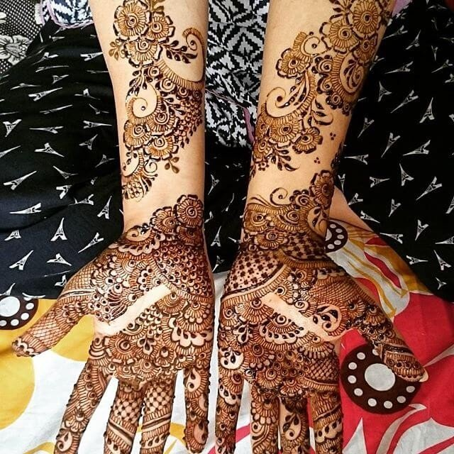 Full hand and Arm Mehndi designs 2018