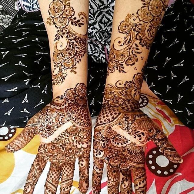 Full hand and Arm Mehndi designs 2018