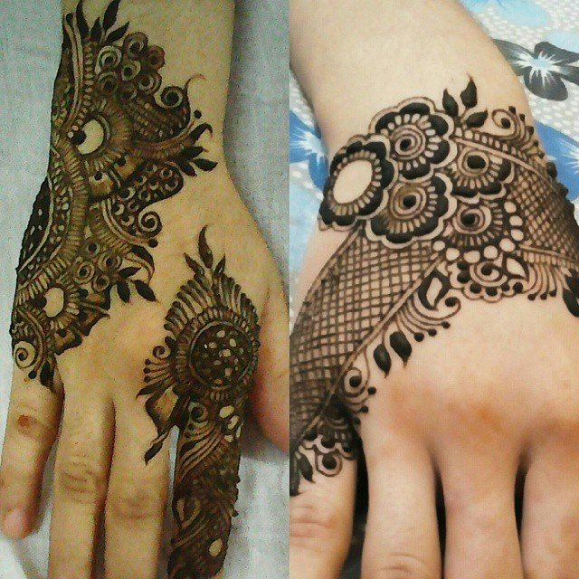 full back hand mehndi designs in 2018