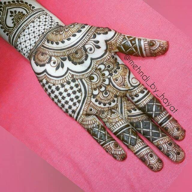 Full Front Hands Mehndi Designs 2018