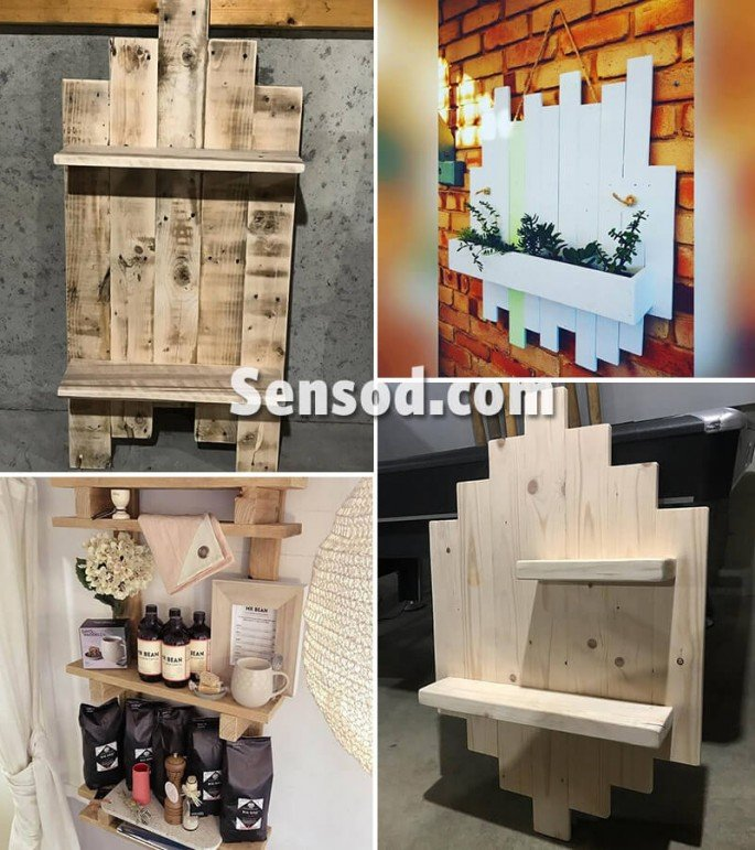Pallet Shelves Ideas: 14+ Best DIY Pallet Wall Shelves Ideas In 2018