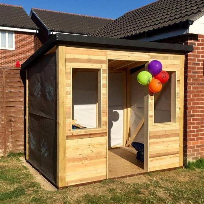 20 SIMPLE AND CHEAP WOOD PALLET SHED DIY IDEA PROJECTS