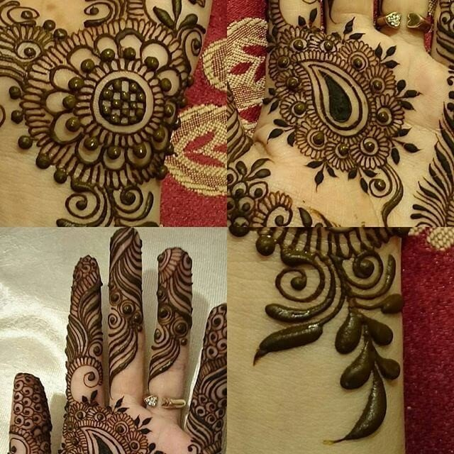 Solid Mehndi design ideas on sensod