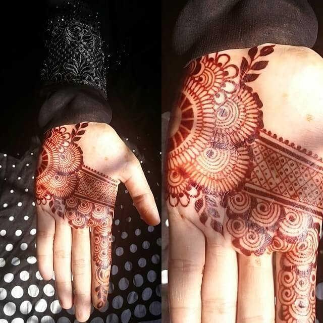 Simple fronthand mehndi designs functionality