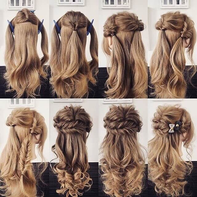 hairstyle for girls 2018