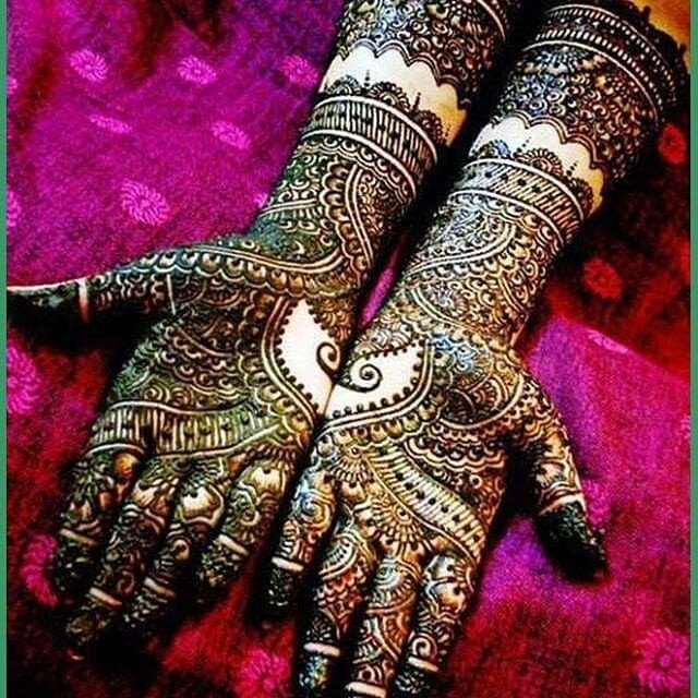 Compilation of 20+ Beautiful Mehandi Designs For Your Hands