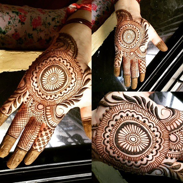 Cool Jewelry Style Mehndi Designs