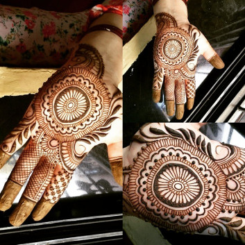 Cool Jewelry Style Mehndi Designs