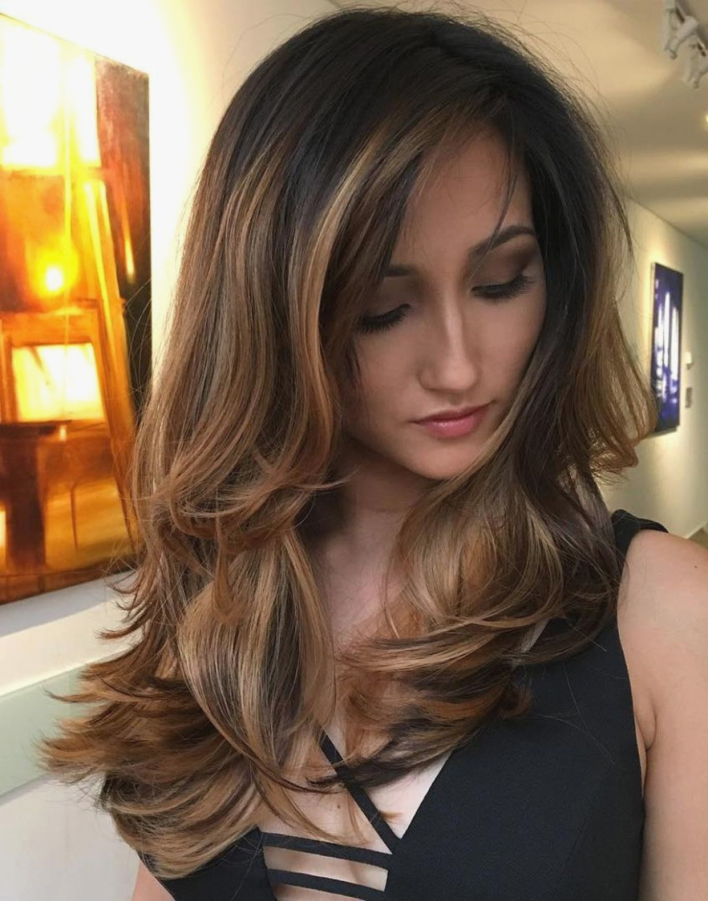 25+ Most Beautiful Hairstyles with Bangs in 2018 - Sensod - photo#47