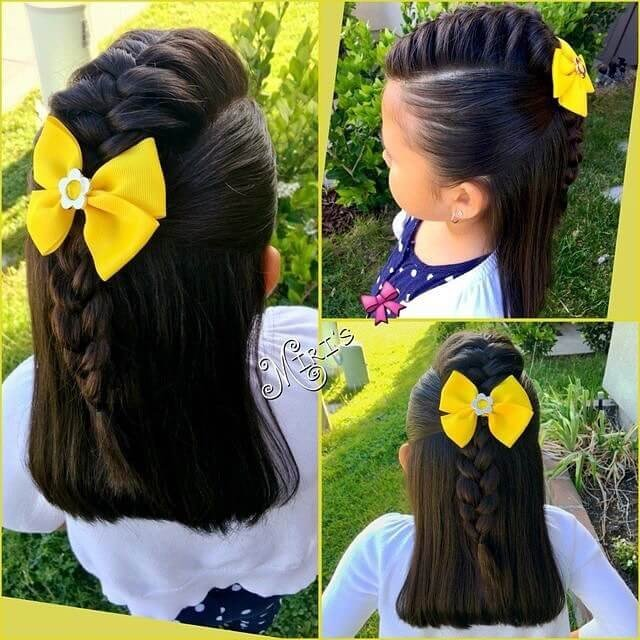 26 Cute Girls hairstyles for summer and winter season 2018
