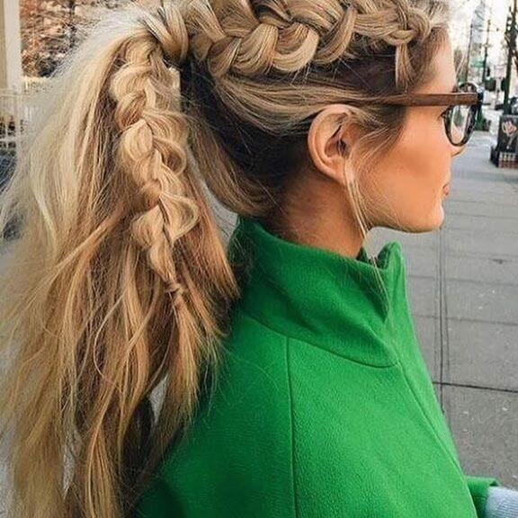 brown cute hairstyles for long hair