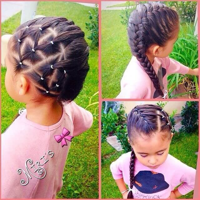 Popular Kids Knot Hairstyles