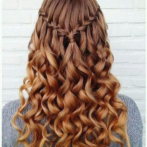 cute curl hairstyles for girls