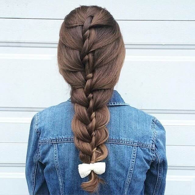 cute silky hairstyles for girls