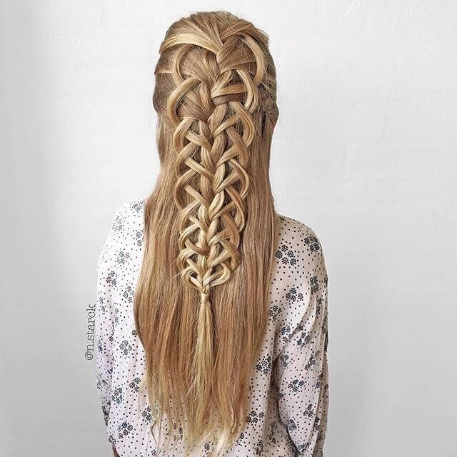 cute silky long hairstyles for girls