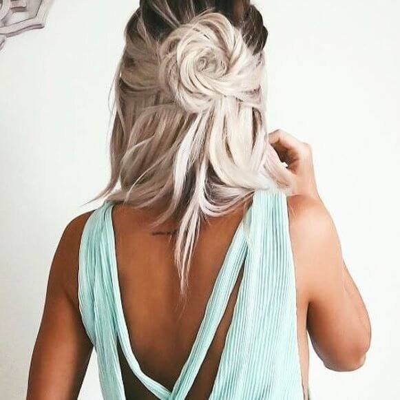 Popular women Knot Hairstyles