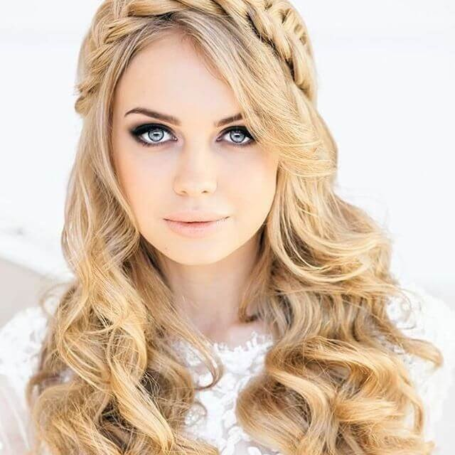 cute Brids hairstyles for lenghty long hair