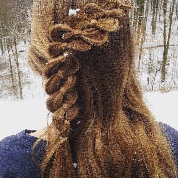 cute Brids hairstyles for lenghty long hair 2018