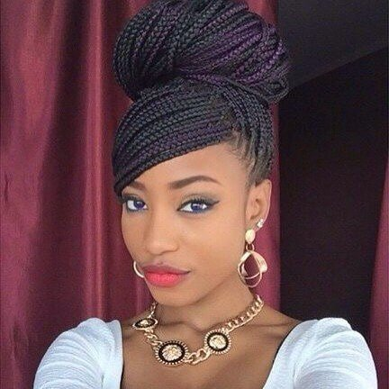 black natural hairstyles ideas