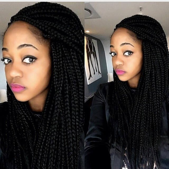 black hairstyles for long hairs